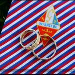 Plener ślubny na stadionie GKS Wybrzeże – Agnieszka i Artur