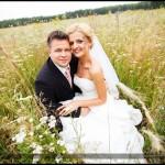 Oryginalny plener ślubny | Ślubna sesja plenerowa z motorem