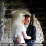 Oryginalny plener ślubny | Policyjna sesja ślubna