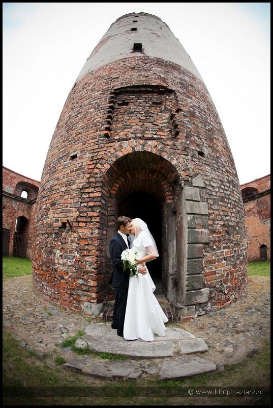 zdjęcia ślubne Twierdza Wisłoujście