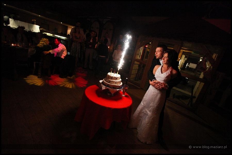 para ślubna tort wesleny