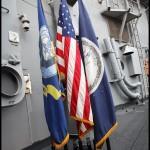 Amerykański okręt wojenny USS Kauffman w Gdyni | Śmigłowiec Sikorsky SH-60 / SH-60B Seahawk