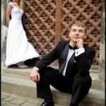 Plener ślubny nad morzem | Sesja plenerowa nad Bałtykiem | Zdjęcia ślubne na starówce