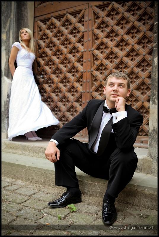 zdjęcia ślubne na gdańskiej starówce