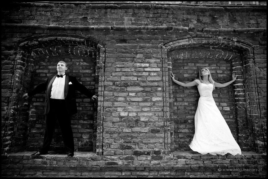 plener ślubny stare miasto w Gdańsku