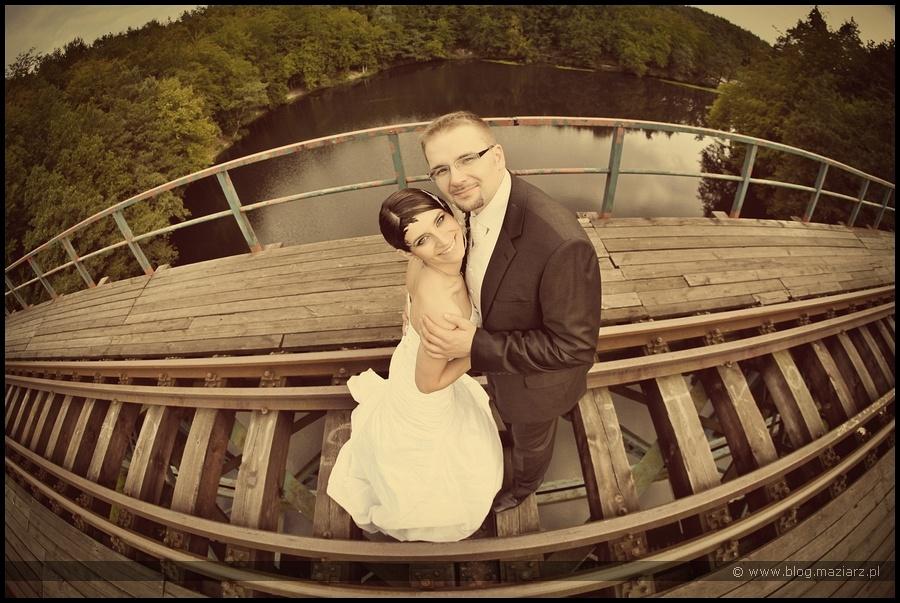 fotografia ślubna zdjęcia ślubne tory