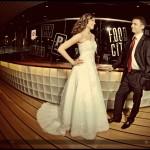 Nietypowy plener ślubny na promie Stena Line | Ciekawe zdjęcia ślubne w Trójmieście