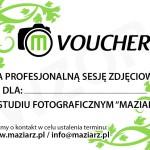 Maziarz dla WOŚP | Voucher na sesję zdjęciową w studio fotograficznym – pomóż dzieciakom!
