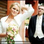 Błyskawiczny plener ślubny Kasia i Michała dzień po ich ślubie w Straszynie