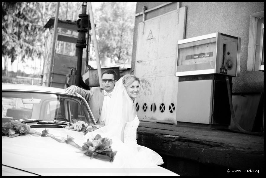 plener ślubny w Ostródzie