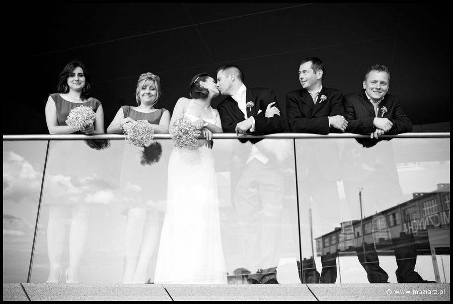 plener ślubny tego samego dnia Gdynia