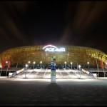 Zdjęcia Stadionu PGE Arena w Gdańsku Nocą | PGE Arena Fotografie Nocne