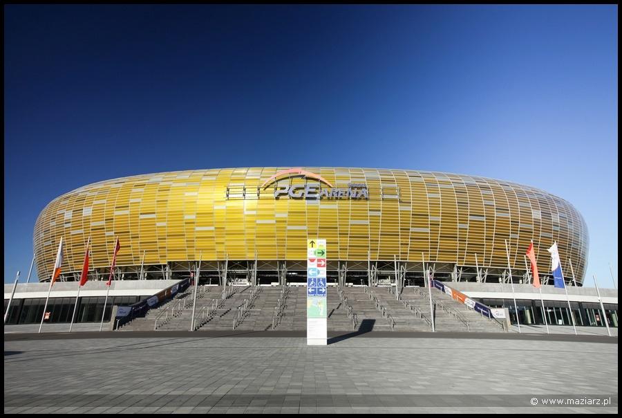 zdjęcie fotografie stadionu Lechia Gdańsk