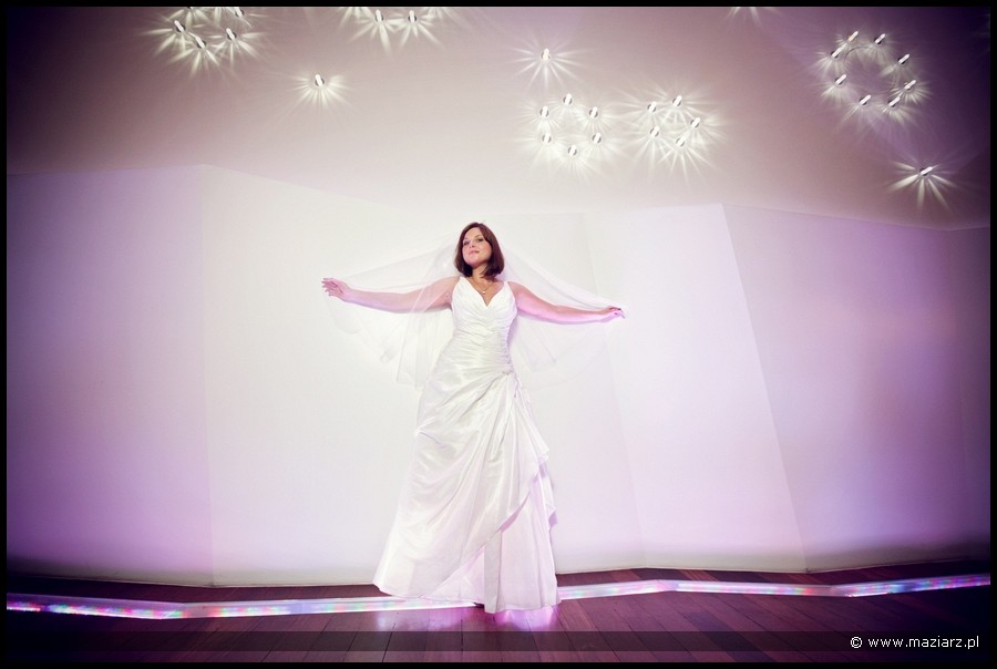 nowoczesny plener ślubny w Gdyni