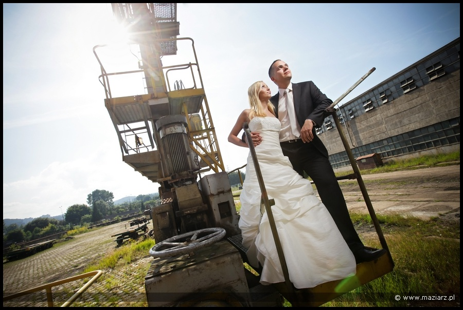 plener ślubny Stocznia Gdynia