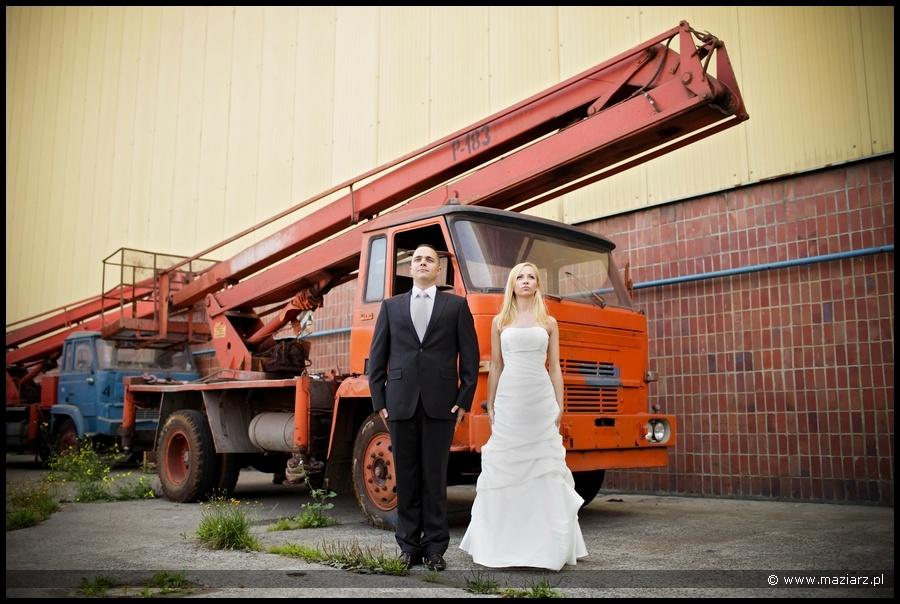 fajne zdjęcia ślubne Trójmiasto